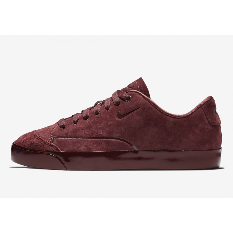 Nike Blazer City Low Burgundy Suede Burgundy AV2253-600