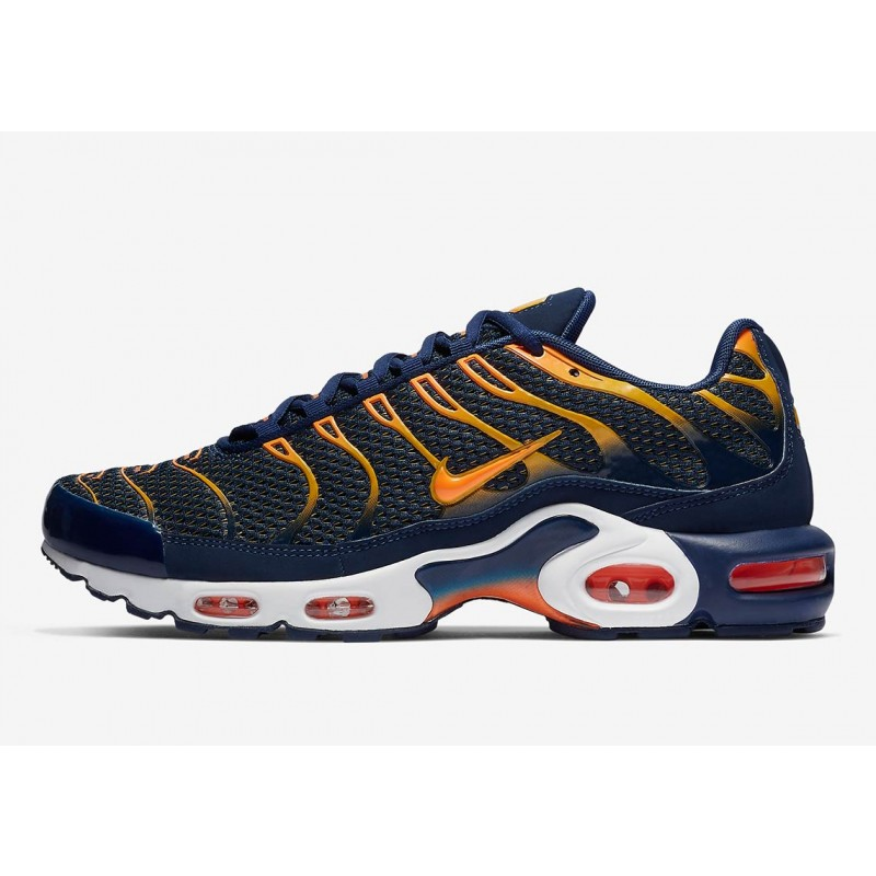 Air Max Plus Azules Void University Oro - 852630-408