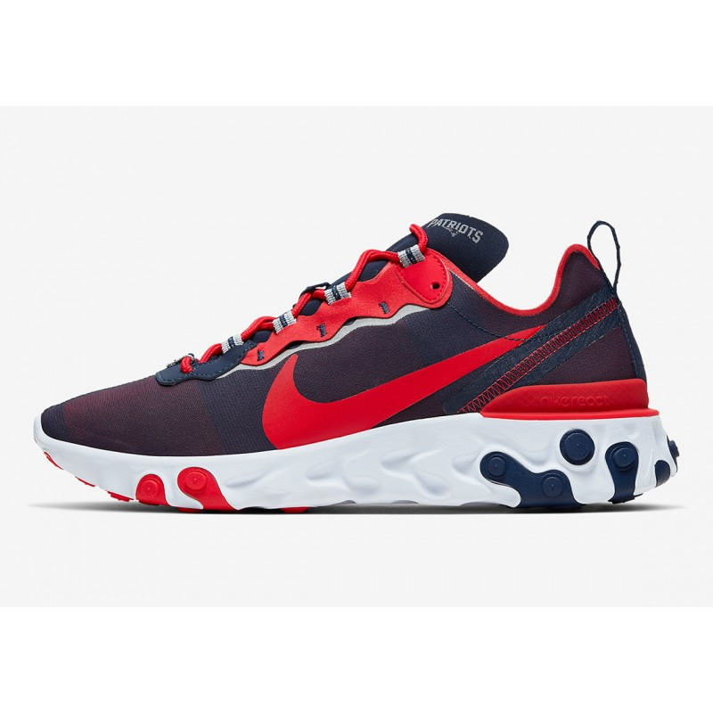 "NFL x Nike React Element 55 ""New England Patriots"" CK4883-400"