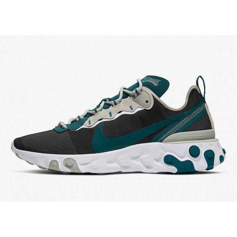 "NFL x Nike React Element 55 ""Philadelphia Eagles"" CK4877-001"