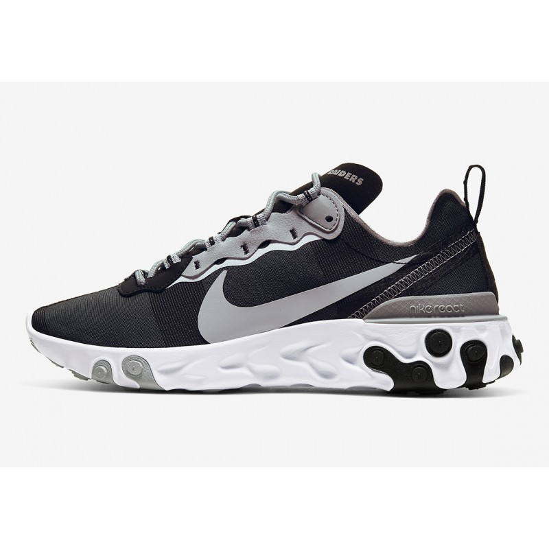 "NFL x Nike React Element 55 ""Oakland Raiders"" CK4803-001"