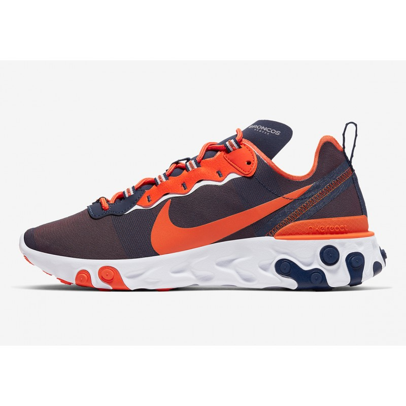 "NFL x Nike React Element 55 ""Denver Broncos"" CK4869-400"
