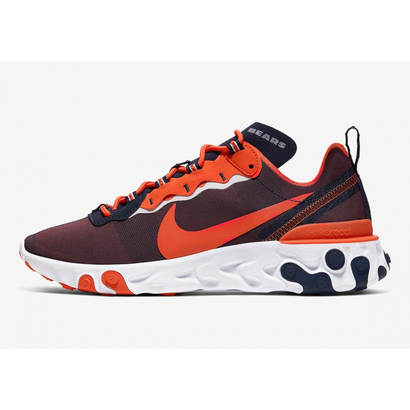 "NFL x Nike React Element 55 ""Chicago Bears"" CK4800-400"