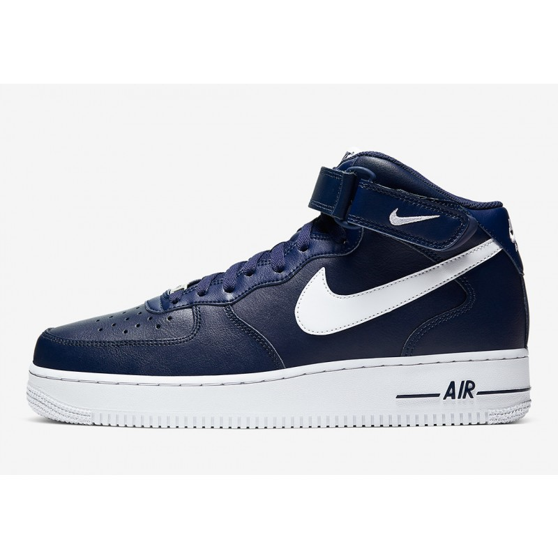 Nike Air Force 1 Mid Oscuro Armada CK4370-400