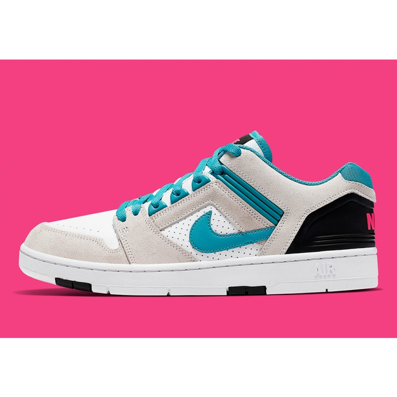 Nike SB Air Force 2 Blancas/Azules/Rosas AO0300-101